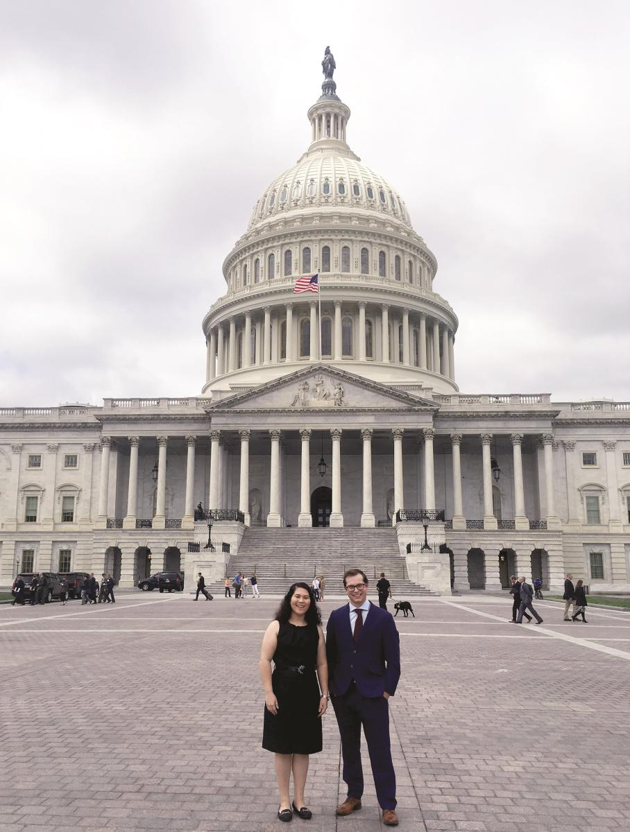 SPS CVD Members on Capitol Hill