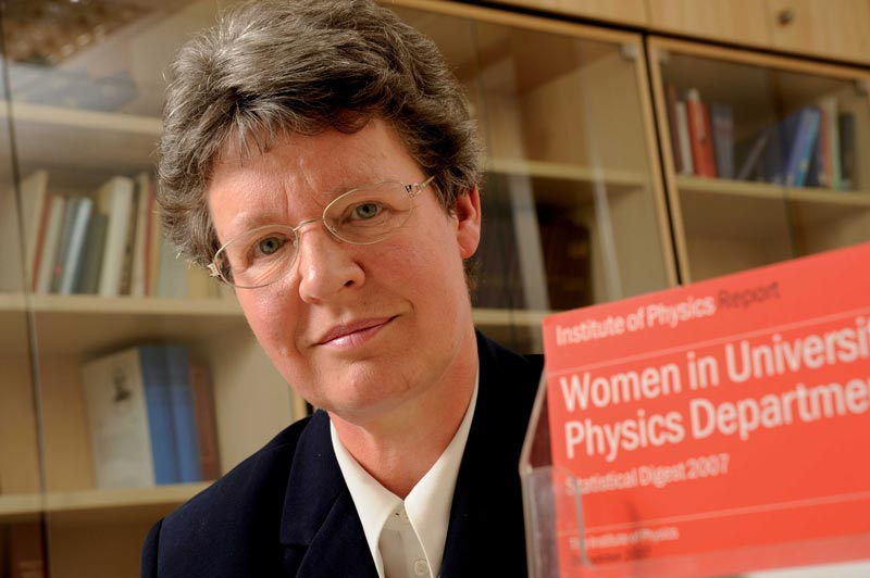 Jocelyn Bell Burnell.