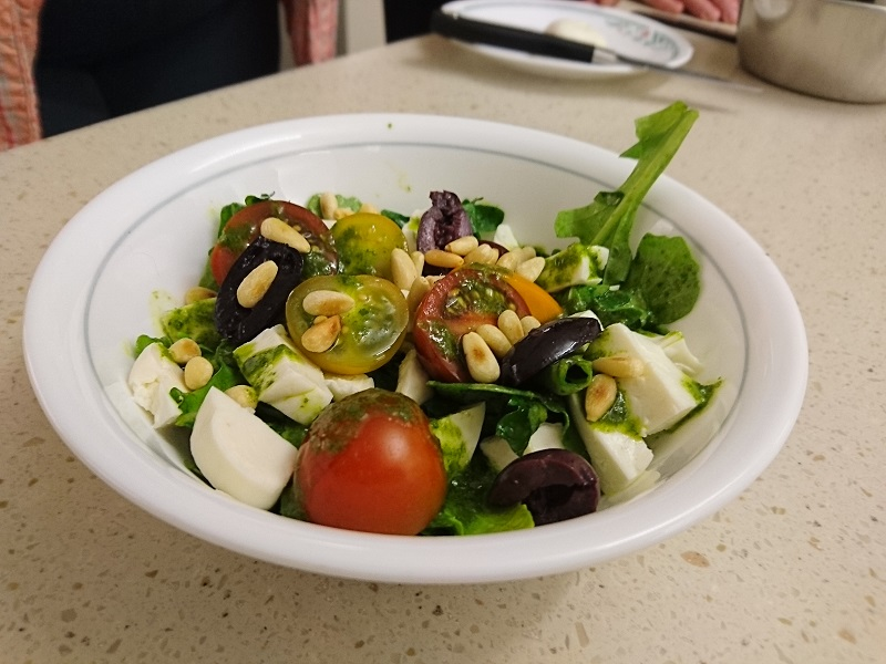 Vinaigrette Salad with Mozzarella