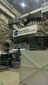 The Space Environment Simulator (SES) at NASA Goddard, one of my favorite parts of the tour.