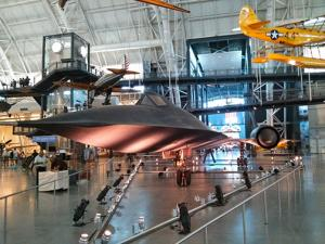 The SR-71 Blackbird at the Udvar-Hazy extension of the Smithsonian Air and Space Museum!