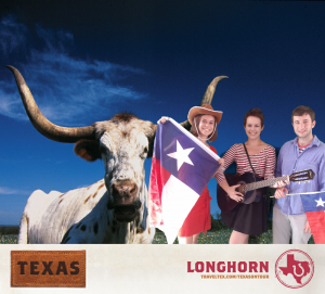 "Ashley, Simon and I ""Touring Texas"" at Safeway's National BBQ Battle"