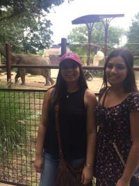 Sisters at the National Zoo!