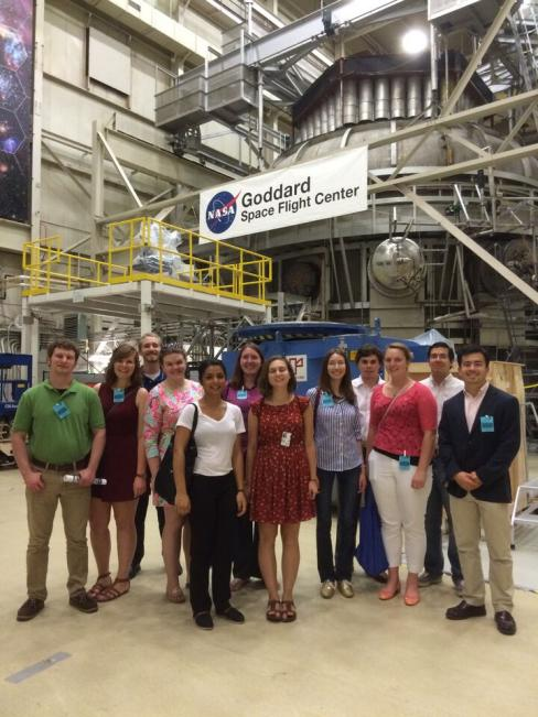 NASA SPS Interns group