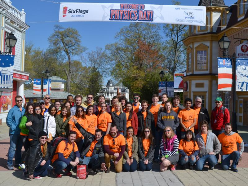 Physics Day 2015 at Six Flags America