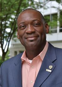 Sigma Pi Sigma president Willie Rockward, PhD, Morehouse College. Photo courtesy of the American Institute of Physics.