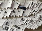 News articles generated by the AAS meeting. Photo by Caroline Roberts.