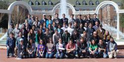 All Zone 10 attendees pose for a photo on Saturday.