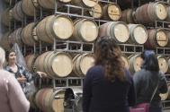 Students, faculty, and the invited speaker attended a tour of Colterris Winery in Palisade, CO.
