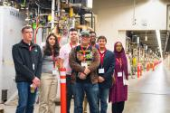 """""""The highlight of PhysCon was my tour of SLAC. Operated by Stanford University, the SLAC National Accelerator Laboratory has made several remarkable breakthroughs in precisely the areas of physics I'm enthralled by!"""" —Kathleen Hamilton, Howard Community College"""