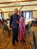 Aman and I before the reception