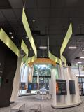 Ceiling Deoration at NASA Visitors Center for Solar Wind