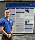 Presenting my poster at the 2018 summer intern session