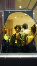 A toxic mirror...