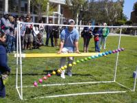 "The Hartnell College SPS ""Physics Olympics"" outreach event."