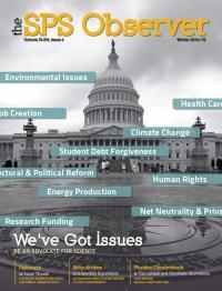 The SPS Observer, Winter 2014-15